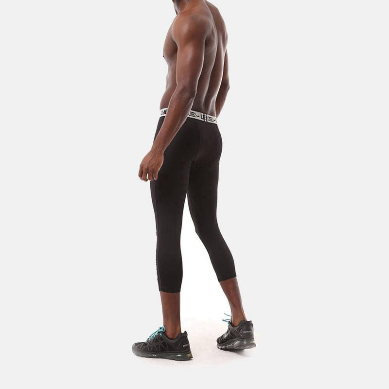 Men's Pro 3/4 Compression Running Tights - CTHOPER