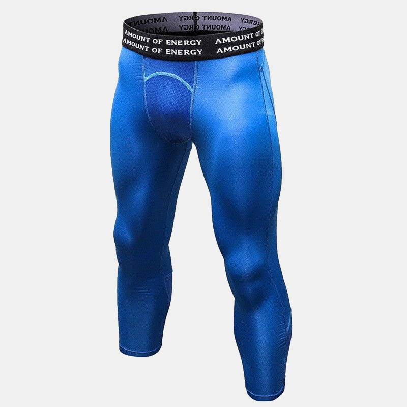 Men's Pro 3/4 Running Leggings - CTHOPER