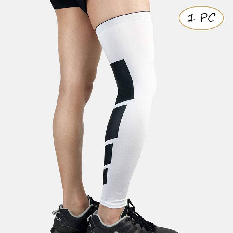Basketball Compression Knee & Calf Sleeves - 1 Pcs - CTHOPER