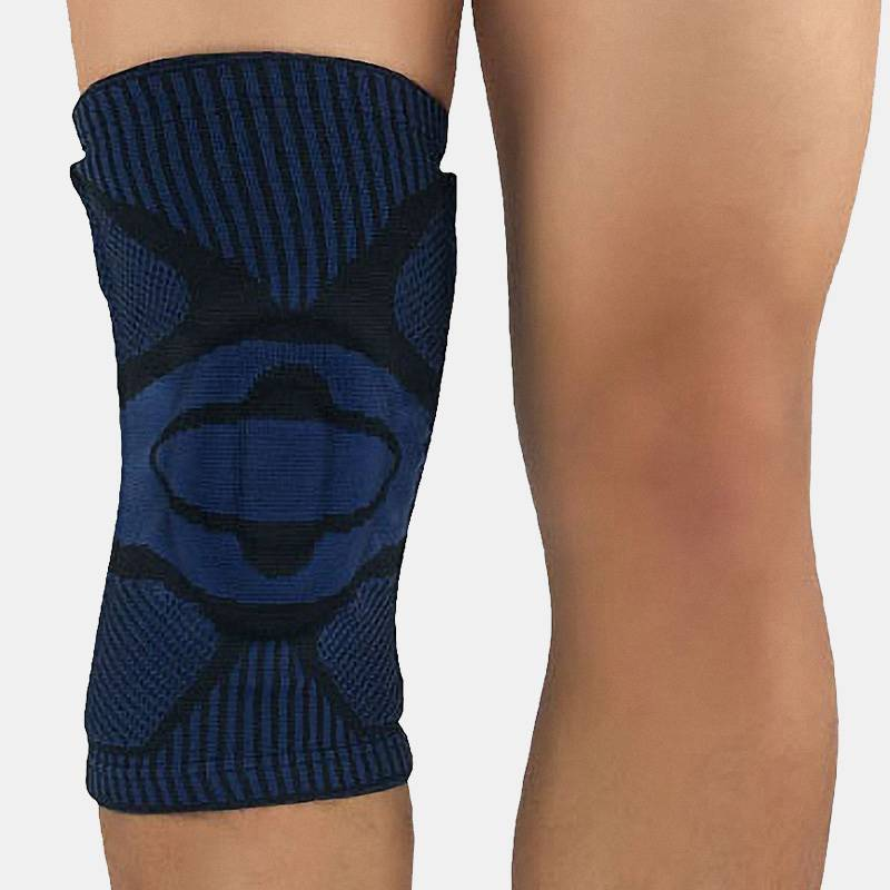 Knee Brace with Side Stabilizers & Patella Gel Pads -2 Pcs - CTHOPER