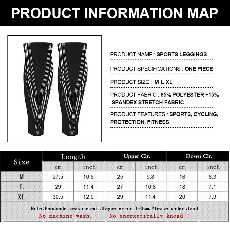 Calf Compression Sleeves For Football Cycling Running - CTHOPER