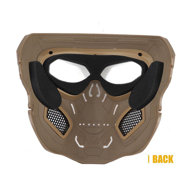 Skull Airsoft Full Face Helmet Mask For Horror CS Halloween Party Cosplay - CTHOPER