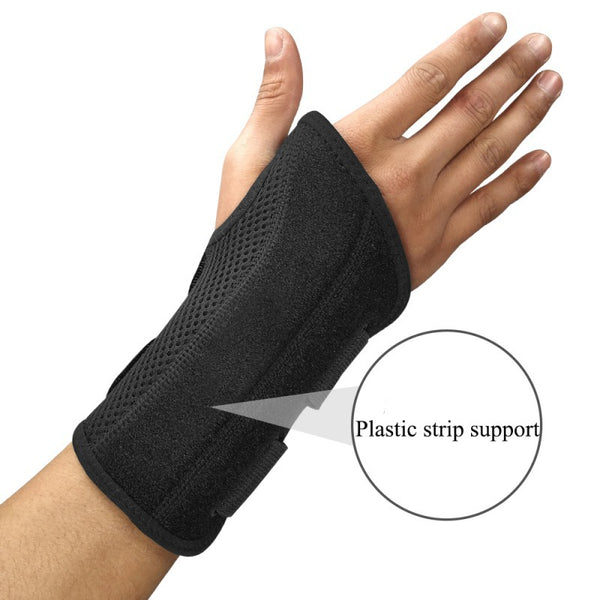 Carpal Tunnel Forearm Splint Band Strap Pain Relieve Soft Moisture-Wicking Wrist Brace - CTHOPER