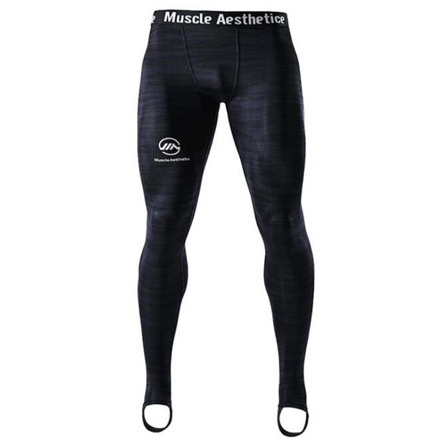 Men Compression Tight Leggings Gym Fitness Jogging Pants - CTHOPER