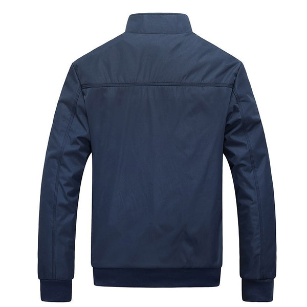 Men Fashion Casual Loose Sportswear Bomber Jacket - CTHOPER