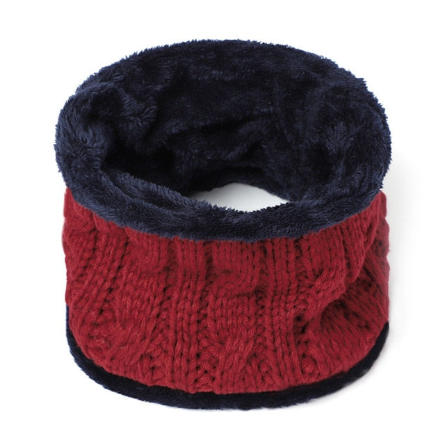 Wool Warm Knitted Winter Hats For Men - CTHOPER