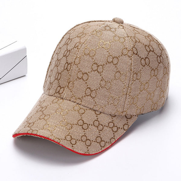 High Quality Geometric Print Spring Summer Lady Men's Snapback Baseball Cap - CTHOPER
