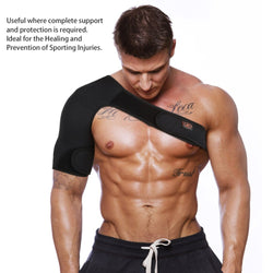Magnetic Single Shoulder Brace Support Strap Wrap - CTHOPER