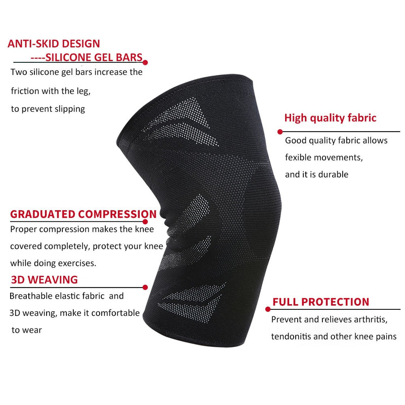 Compression Knee Support Brace 1pcs - CTHOPER