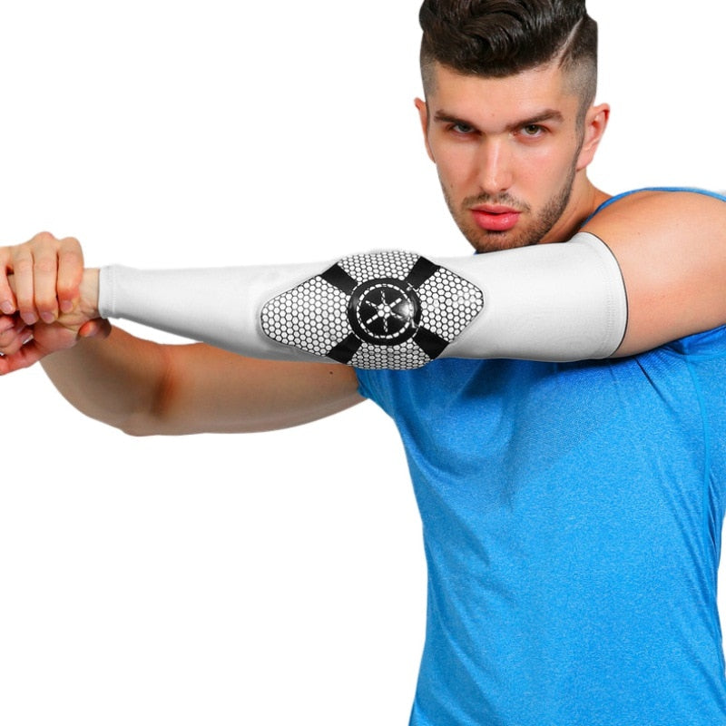 Long Elbow Pads Sleeve Wrist Cover Protector - CTHOPER