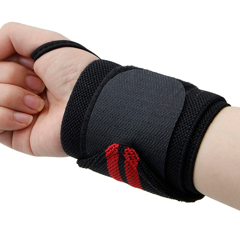 Sport Wrist Weight Lifting Strap Bandage Hand Support Wristband - CTHOPER