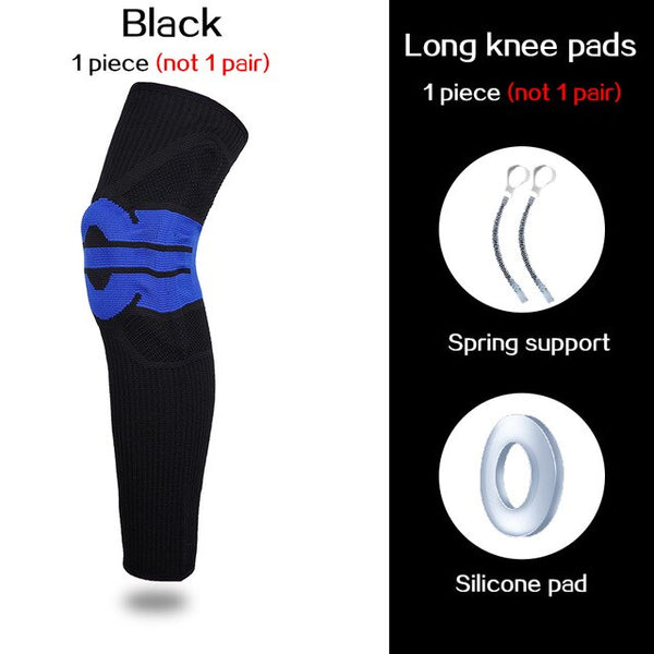 Elastic Silicon Padded Basketball Knee Pads - CTHOPER
