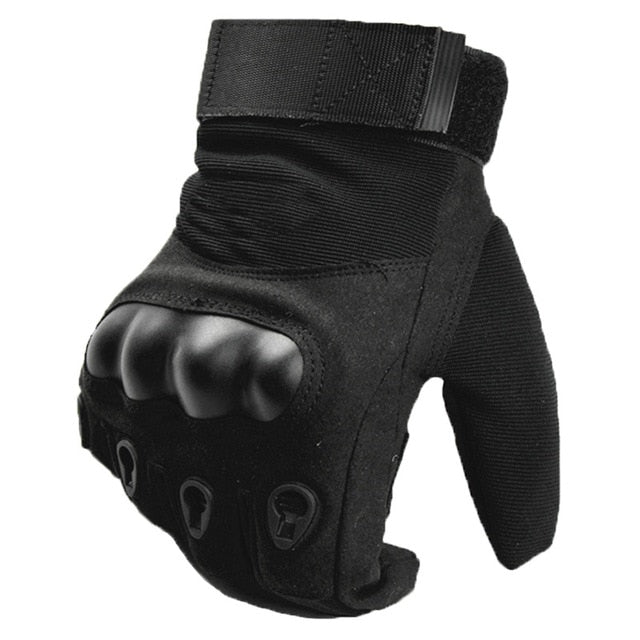 Men Winter Army Military Tactical Combat Anti-Skid Bicycle Gloves - CTHOPER