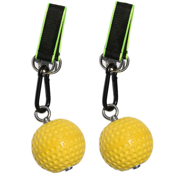 Climbing Pull Up Power Ball Hold Grips Durable Non-Slip Hand Grips Strength Trainer Exerciser - CTHOPER