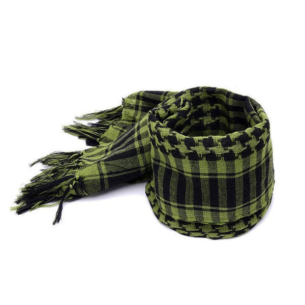 CTHOPER Mens Lightweight Square Outdoor Shawl Military Arab Tactical Desert Army Shemagh KeffIyeh Arafat Scarf - CTHOPER