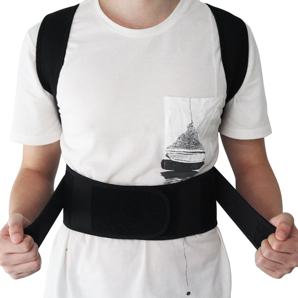 Magnetic Therapy Adjustable Posture Corrector Back Brace Full Back for Men Women - Lower Back Support - CTHOPER
