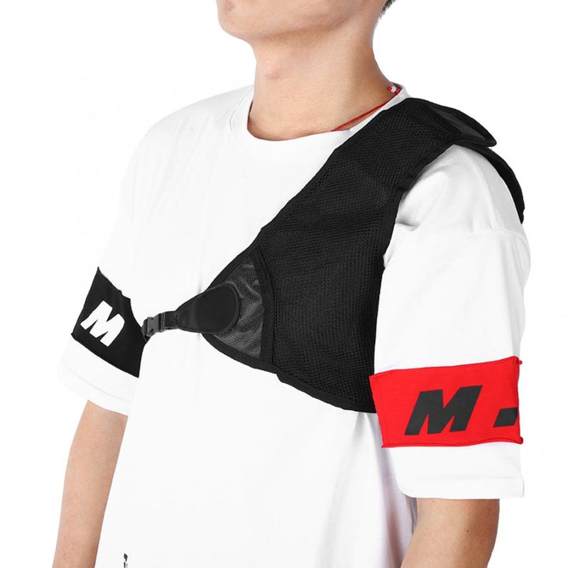 Adjustable Chest Protector Guard Left Shoulder Chest Support for Right Hand Archer Recurve Bow Shooting Sports Safety - CTHOPER