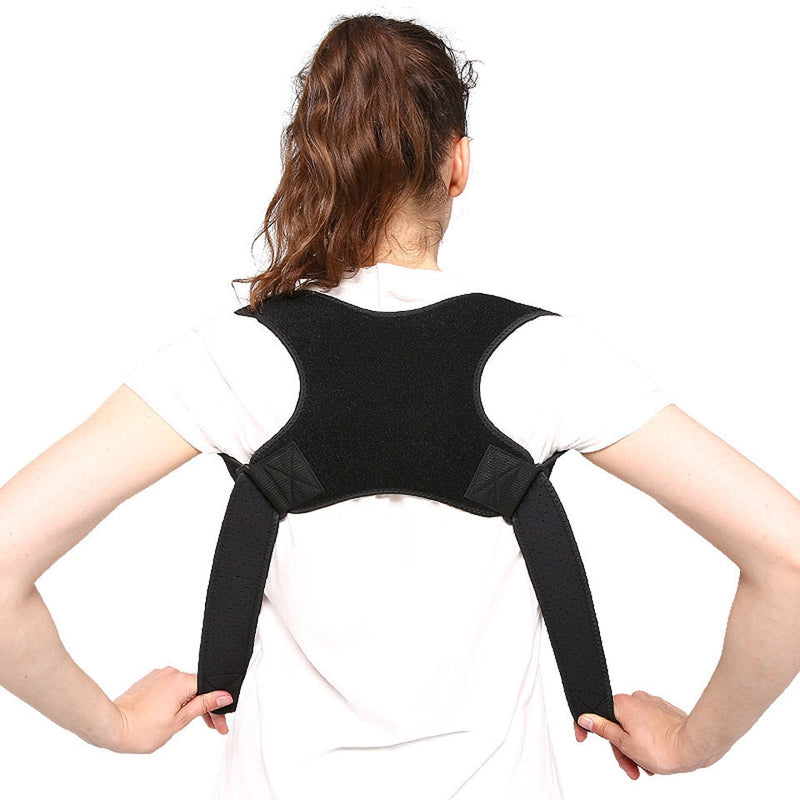 Spine Posture Corrector Protection Back Shoulder Correction Band Humpback Back Pain Relief Corrector Brace - CTHOPER