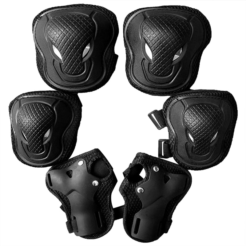 Kids Protective Gear Set Knee Pads for Kids 3-14 Years Toddler Knee and Elbow Pads with Wrist Guards 3 in 1 for Skating Cycling Bike Rollerblading Scooter