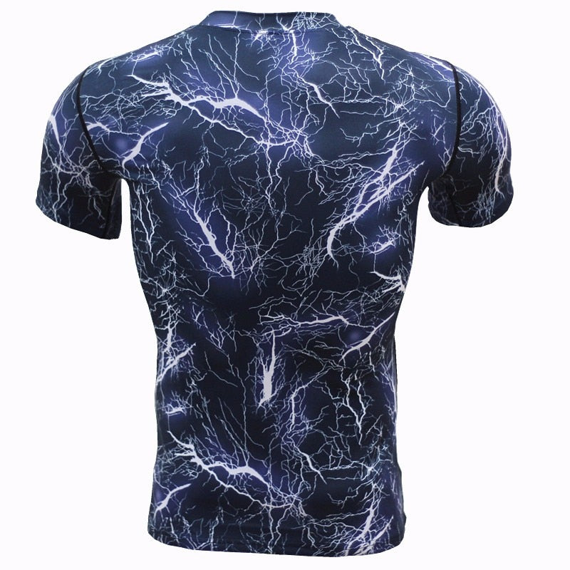 Men's Quick-drying Fitness Short Sleeve T-shirt - CTHOPER