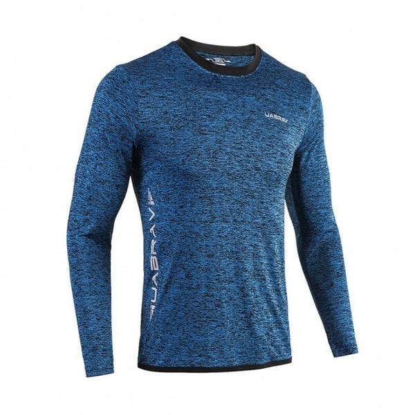 Men's Sport Long Sleeve Quick Dry T-Shirts - CTHOPER