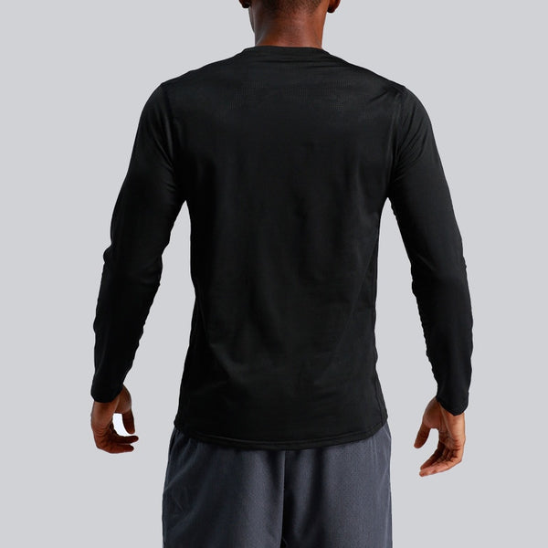 Men's Gym Long Sleeve Training T-shirts - CTHOPER