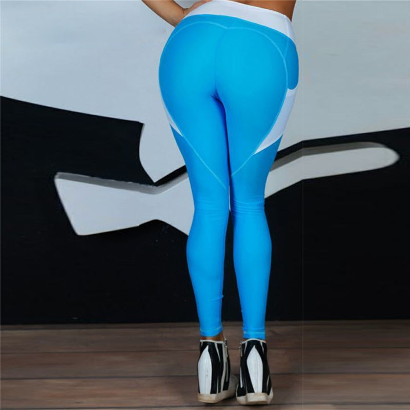 Women High Elastic Gym Yoga Pants - CTHOPER