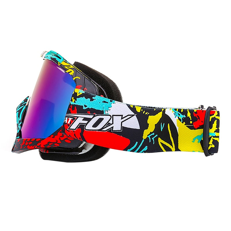 Snowboard Anti-Fog Big Ski Goggle Spectacles Skiing Glasses - CTHOPER