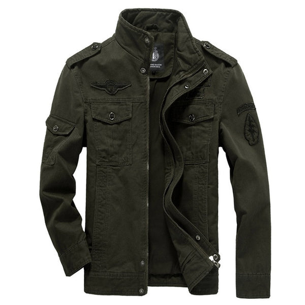Men's Soldier Slothing Bomber Cotton Military Jackets - CTHOPER