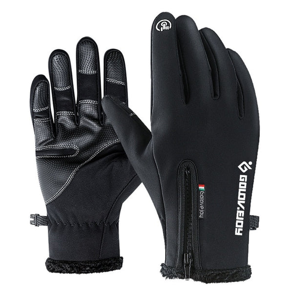 Men's Winter Waterproof Warm Gloves - CTHOPER