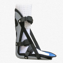 Ankle Support Brac Foot Drop Splint Guard Sprain Orthosis Fractures Ankle Braces - CTHOPER