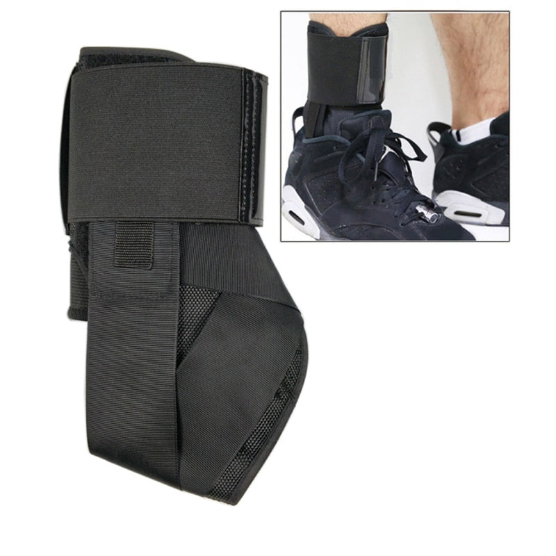 Sports Safety Adjustable Comfortable Compression Ankle Braces Bandage Straps - CTHOPER