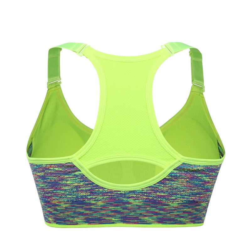 Women's Push Up Seamless Running Yoga Bra - CTHOPER
