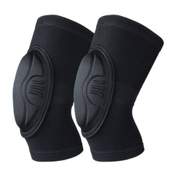 Thickened Sponge Anti Collision Warm Knee Pads for Football Volleyball Riding Dance - CTHOPER