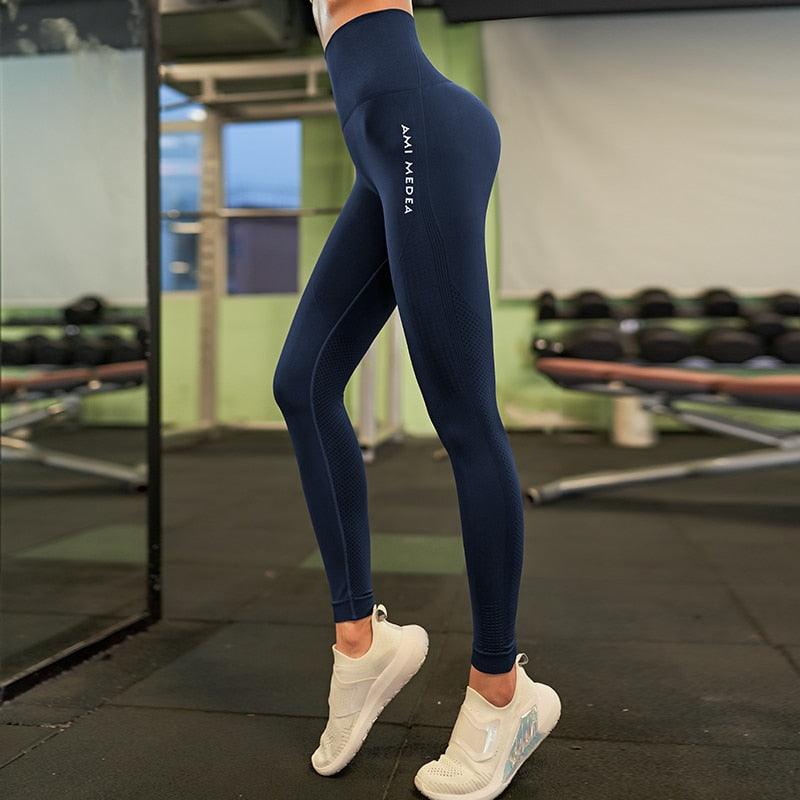 2019 Stretchy Gym Tights Sexy Push Up Tummy Control Yoga Pants - CTHOPER