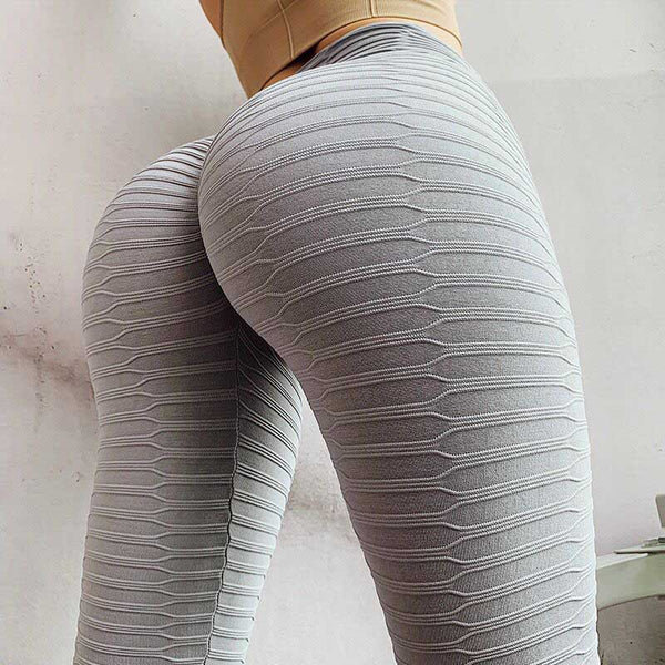 Women Sexy High Waist Push Up Yoga Pants - CTHOPER
