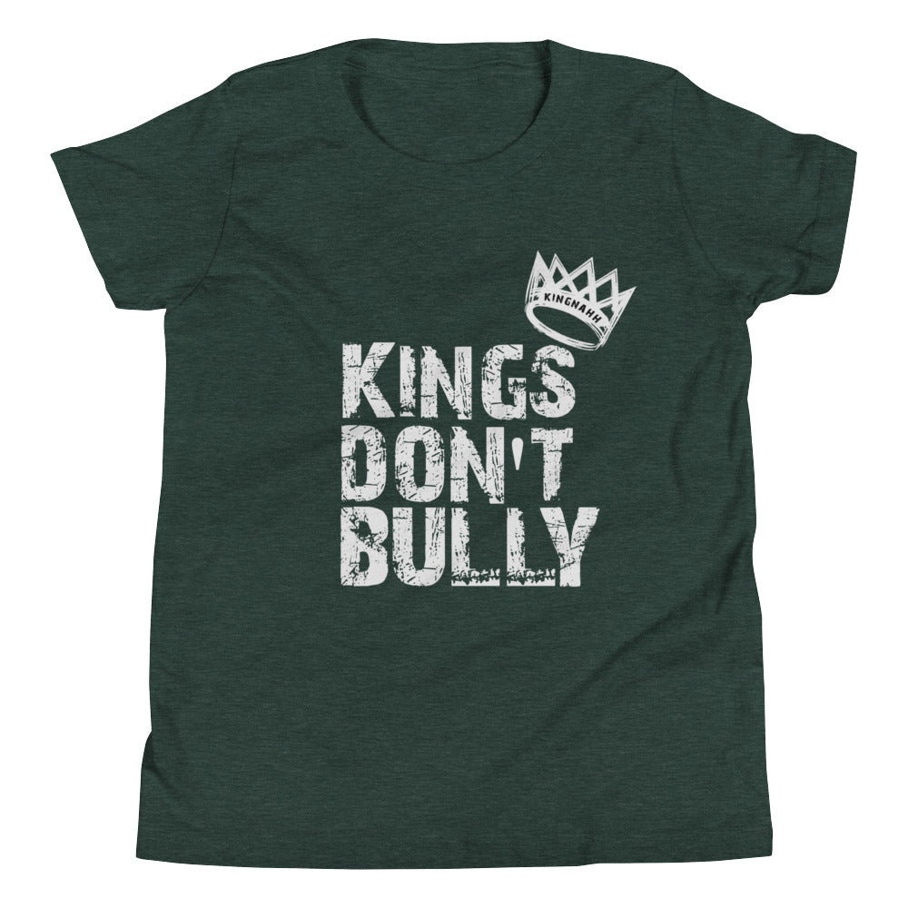 "Youth ""King's Don't Bully"" T-Shirt"