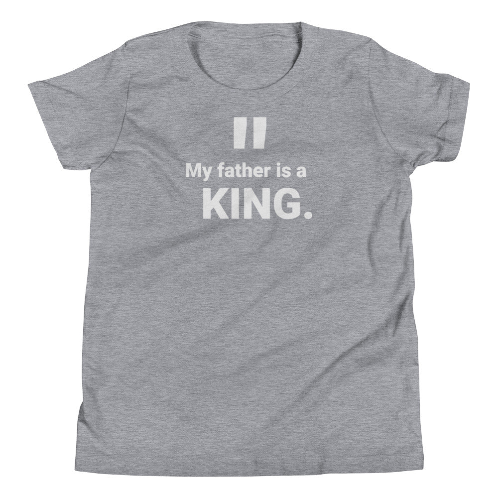 "Youth ""Father Is A King"" T-Shirt"