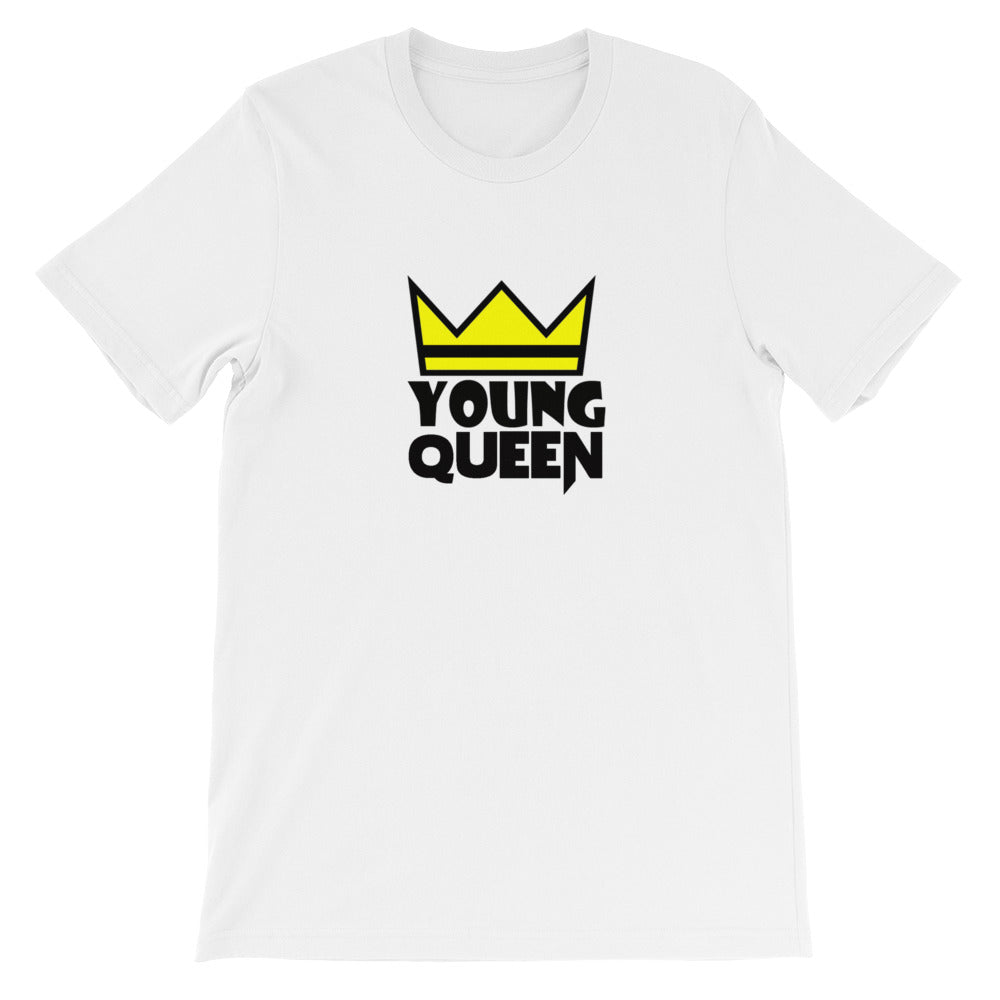"Adult Unisex ""Young Queen"" T-Shirt"