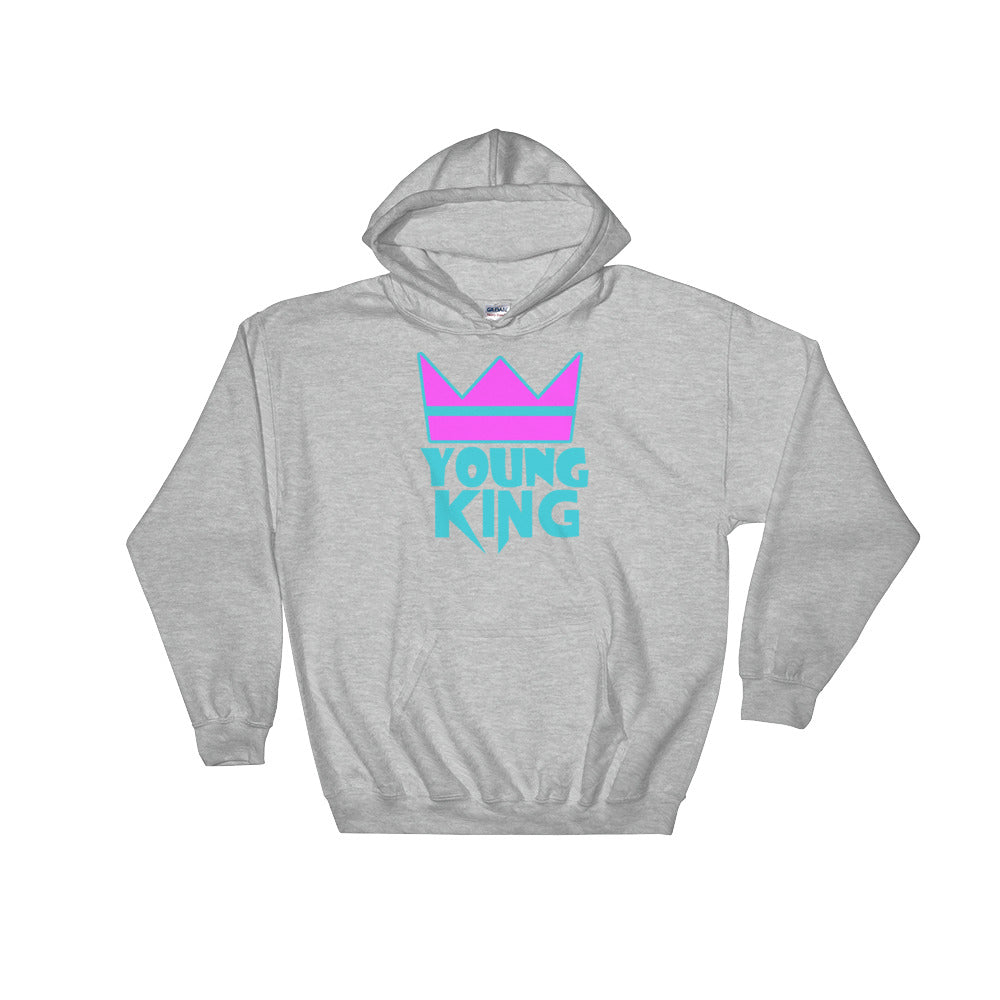 "Adult Unisex "" ""Young King"" Hoodie"