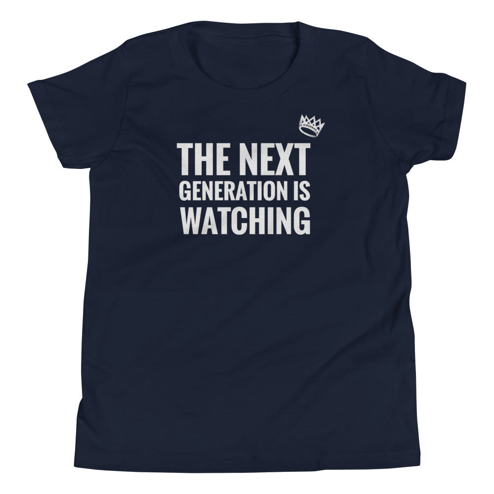 "Youth ""The Next Gen Is Watching"" T-Shirt"