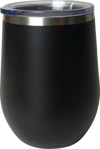 Custom 12oz Wine Tumbler-Popp's Trophies