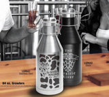 Custom 64oz Travel Growler-Popp's Trophies