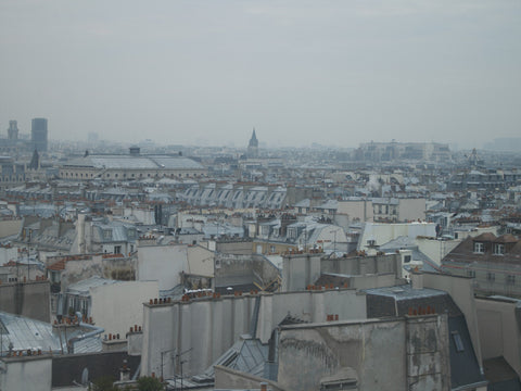 Paris. Romantic Rooftops 002 - Landscape Photography Print