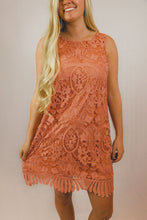 Load image into Gallery viewer, Merry Lace Overlay Dress