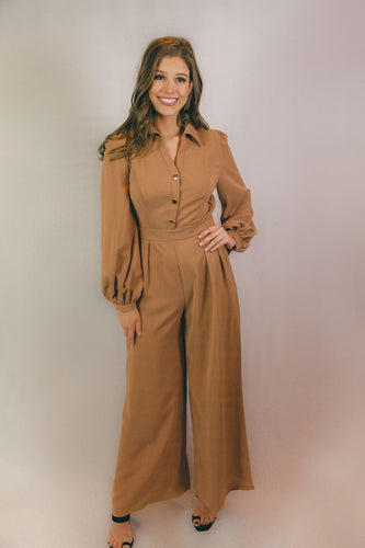 Kirstin Long Sleeve Jumpsuit