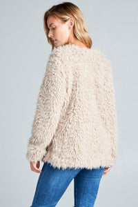 Abby Faux Fur Teddy Jacket