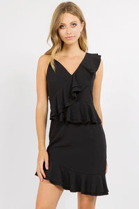 Piper One-Shoulder Ruffle Dress