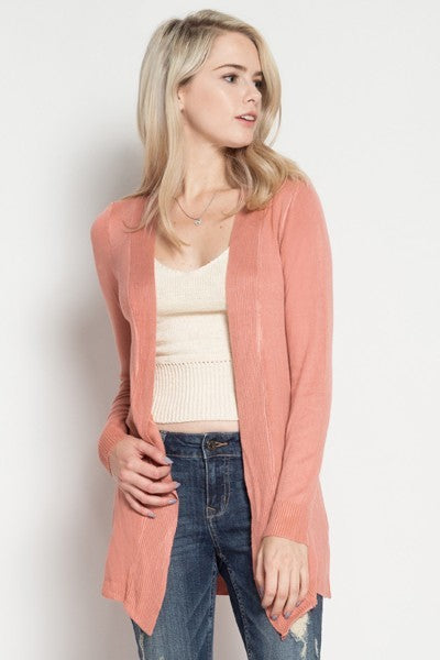 Holly Open Front Cardigan