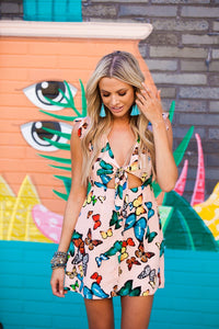 Poppy Butterfly Dress